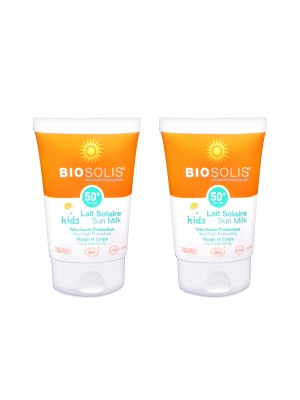 寶貝高效防曬雙入組【Biosolis】寶貝高效防曬乳SPF50+ 50ml〈2入〉