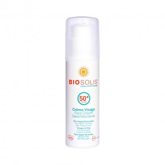 即期優惠【Biosolis 碧麗詩】臉部高效防曬隔離乳 SPF50+ 50ml(效期 2022. 03)