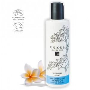 【UNIQUE丹麥奇機】 花萃乳清保溼洗髮精 Moisturizing Shampoo 250ml(有效期限2020/07)
